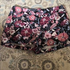 Loft floral patterned shorts
